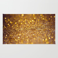 All that glitters Rug by Light Wanderer