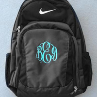 Monogrammed Nike Performance Backpack