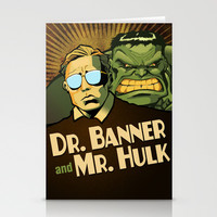 A Banner Year Stationery Cards by BinaryGod.com