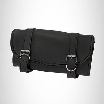 Tool bag black Synthetic leather  Water resistant Quick release buckle