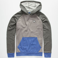 Volcom Stone Pullover Boys Hoodie Blue Combo  In Sizes