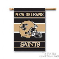 New Orleans Saints 2-sided 28x40 Outdoor House Banner Flag Football