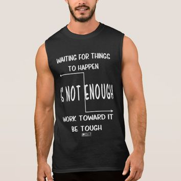 Tough Quote by Kat Worth Sleeveless Shirt