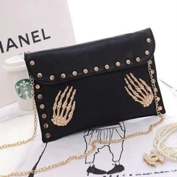 Summer Korean Stylish Chain Bags Shoulder Bags [6581836487]