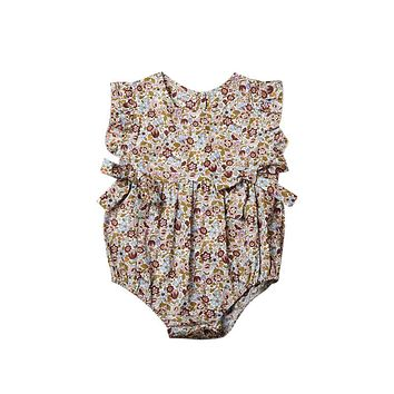 Halloween Gift Newborn Baby Girls Hollow Out Romper One Pieces Jumpsuit Summer Infant