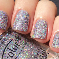 Color Club - Sugarplum Fairy -- Lavender Holo Holographic Glitter Nail Polish