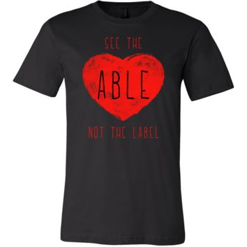 See The Able Not The Label Inspirational Apparel