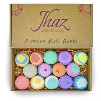 Set of 14 (3 oz.) Bath Bombs