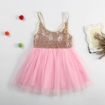 Kids Girls Baby Dress Products For Children = 4457452612