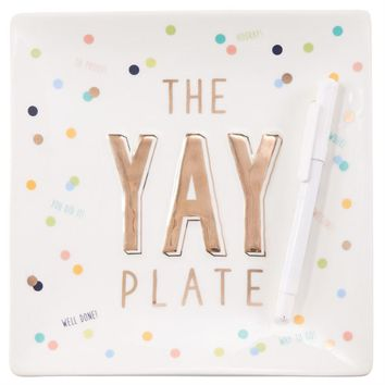 The YAY Plate Set