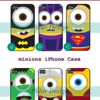 minion catalog iphone 4/4S/5 case cover