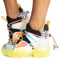 Banana-07 Wedge Sneakers