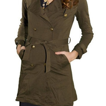 SERGEANT TRENCH COAT