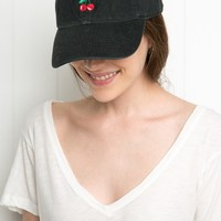 KATHERINE CHERRIES EMBROIDERY CAP