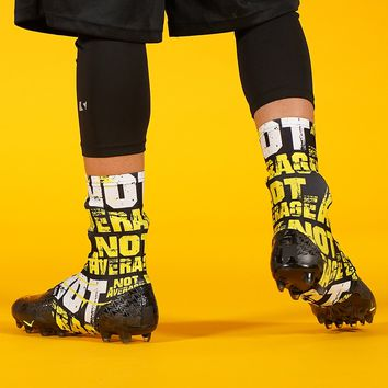 Not Average Pattern Spats / Cleat Covers