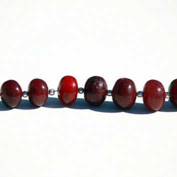 Red Ruby 12mm Smooth Round Beads