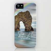 To The Rainbow iPhone Case for iphone 5, 4S, 4, 3GS, 3G by Alice Gosling | Society6