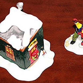 Dept 56 Original Snow Village Fresh Frozen Fish 5163-2