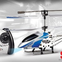 Syma 3-Channel S105 Mini Indoor Co-Axial Metal Frame Helicopter ---NEW!
