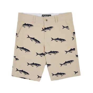 Only NY: Bluefish Chino Shorts - Khaki