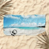 endless summer Beach Towel by sylviacookphotography