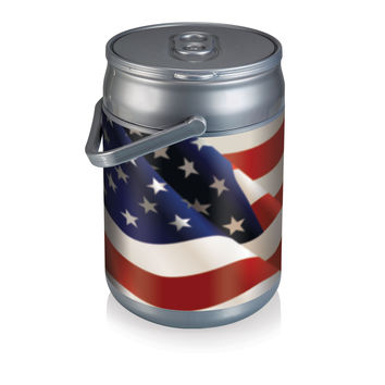 Can Cooler- American Flag