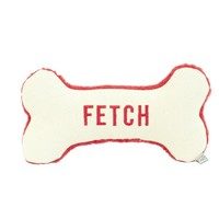 Harry Barker Large Red Fetch Canvas Bone Toy, Dog Toys, Dog Supplies, Pet Toys | Toad Hollow