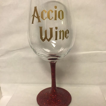 Accio Wine inspired by Harry Potter