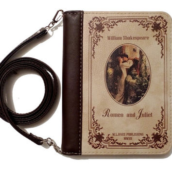 "Book clutch ""Romeo & Juliet"""