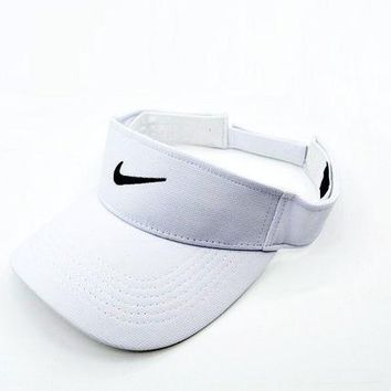 Nike Women Men Embroidery Sports Sun Hat Baseball Cap In 3 Colors