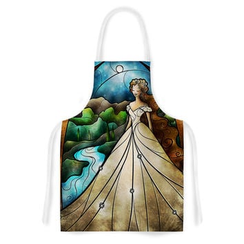 "Mandie Manzano ""Think Of Me"" Princess Artistic Apron"