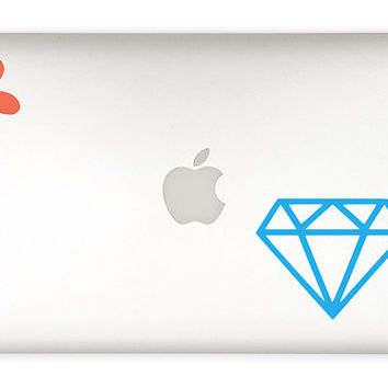 Diamond Vinyl Decal Sticker - Diamond sticker - DIY - car decal, laptop decal, cell phone, notebook, mason jars, camelbak, binder, etc.