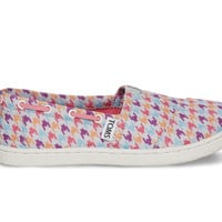 TOMS Multi Houndstooth Youth Biminis  Purple 6