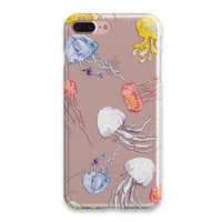 Jellyfish Phone Case İphone 6 Case Clear iPhone 7 Case Clear iPhone 6 Plus Case iPhone SE Case iPhone 5S Case Soft Transparent iPhone Case