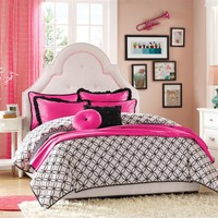 Glamour Girls Comforter Set By Hampton Hill - Full/Queen