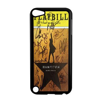 Playbill Hamilton Signatures iPod Touch 5 Case