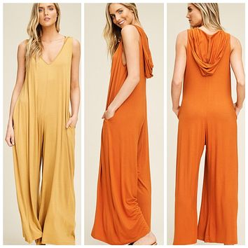 Hooded Honey Jumpsuit
