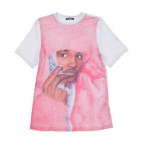 REAL MEN WEAR PINK TEE - MULTI