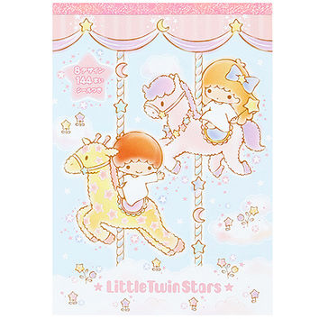 Buy Sanrio Little Twin Stars Memo Pad with 8 Designs & Stickers at ARTBOX