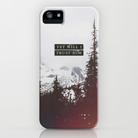 YET WILL I TRUST iPhone & iPod Case by Pocket Fuel