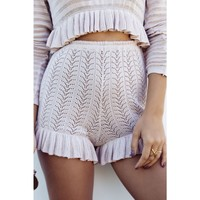 LIMITED EDITION - BABYMILK DUSTY PINK BLOOMER SHORTS - Shorts - Female HOT!MESS Fashion UK