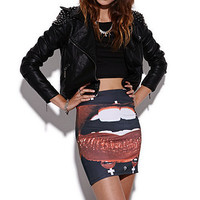 Civil Lips Skirt at PacSun.com