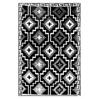 Lhasa Indoor/Outdoor Rug, Black by FAB Rugs | Zanui