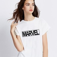 Women T-shirts The letter Print