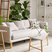 Yvette Quilted Sofa - Urban Outfitters