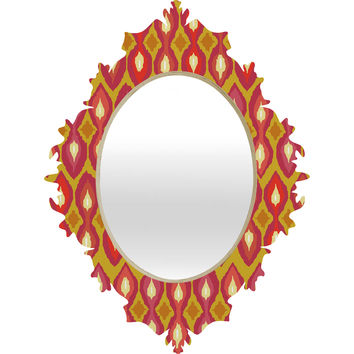 Sharon Turner Party Boardwalk Ikat Baroque Mirror
