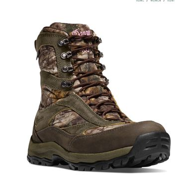 Danner WOMEN'S HIGH GROUND REALTREE XTRA INSULATED 1000G Camo Boots