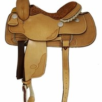 "14"", 14.5"", 15"", 15.5"", 16"" Basket Stamped Ladies All Around Billy Cook Saddle 10-2046"