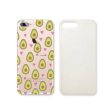 Cute Avocado Pattern Slim Iphone 7 Case, Clear Iphone 7 Hard Cover Case For Apple Iphone 7 -Emerishop (iphone 7)