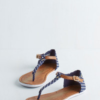 Keds Darling As Far as I Can Sea Sandal in Navy